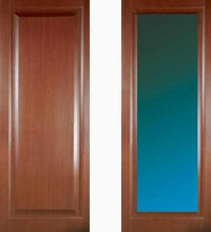 Изображение Двери Межкомнатные Консул c белым стеклом