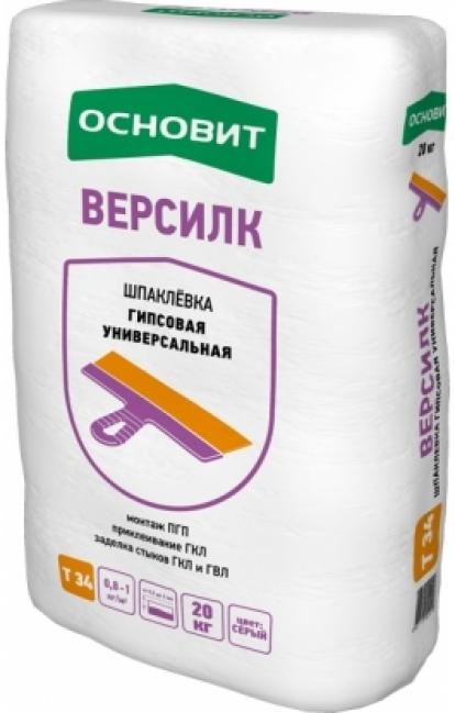 Изображение Строительные товары Строительные смеси Шпатлевка ВЕРСИЛК Т-34