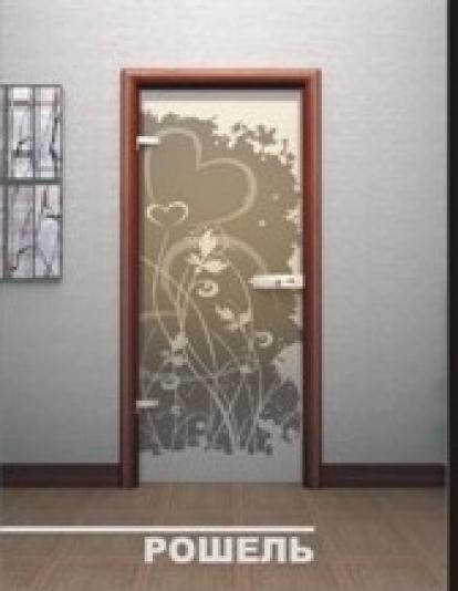 Изображение Двери Межкомнатные Рошель тонированная матовая