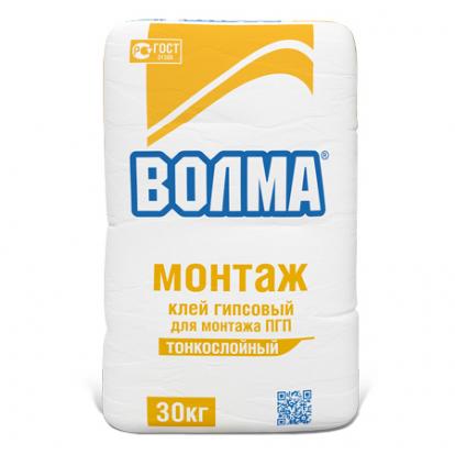 Изображение Строительные товары Строительные смеси ВОЛМА Монтаж (30 кг)