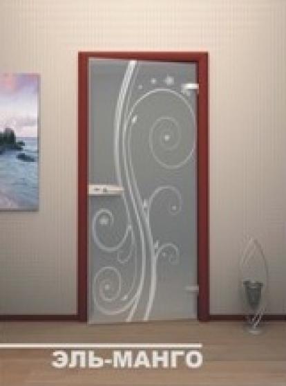 Изображение Двери Межкомнатные Эль-Манго тонированная матовая