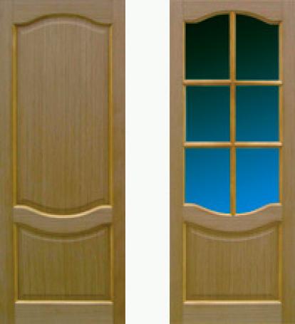 Изображение Двери Межкомнатные Ковров 6 с бронзовым стеклом