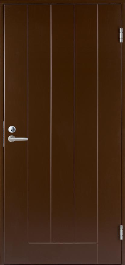 Изображение Двери Входные B0010 Темно-коричневая