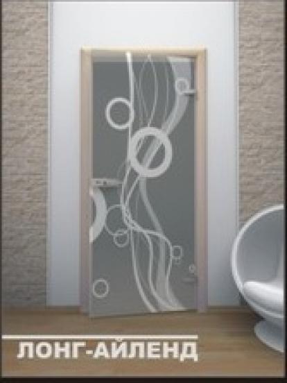 Изображение Двери Межкомнатные Лонг-Айленд тонированная матовая