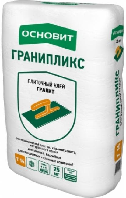 Изображение Строительные товары Строительные смеси Плиточный клей ГРАНИПЛИКС Т-14