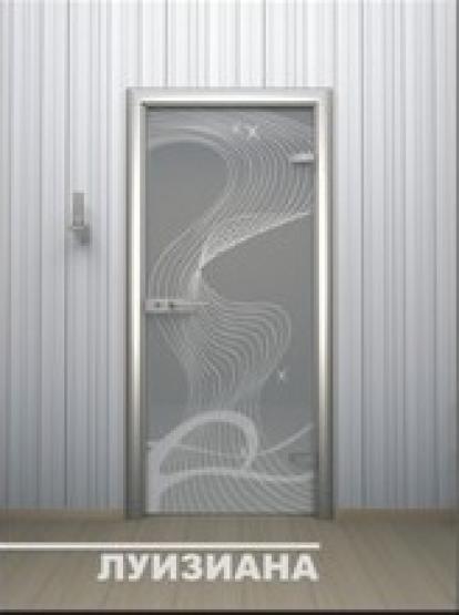 Изображение Двери Межкомнатные Луизиана тонированная