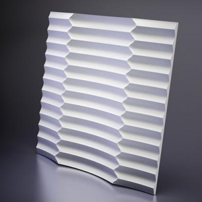 Изображение Стеновые панели 3D панели Ruffle M-0033