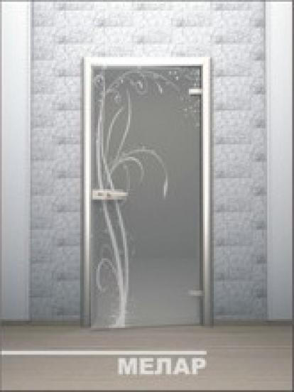 Изображение Двери Межкомнатные Мелар тонированная матовая