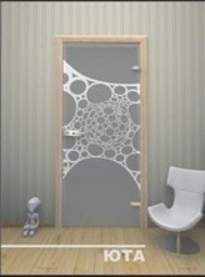 Изображение Двери Межкомнатные Юта прозрачная