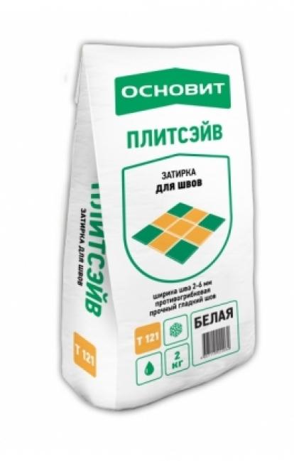 Изображение Строительные товары Строительные смеси Затирка ПЛИТСЭЙВ Т-121 Белая