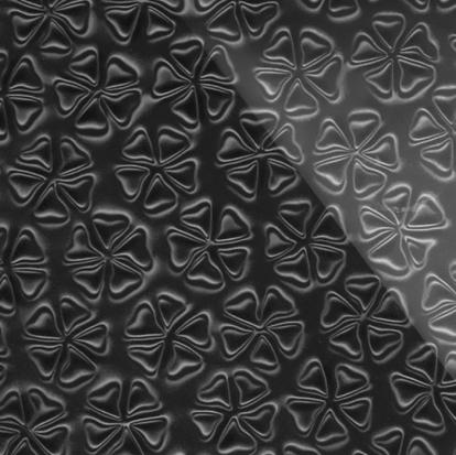 Изображение Стеновые панели 3D панели Redbud Черный 004371 2440*1830