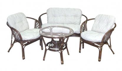 Изображение Мебель ЭкоДизайн Комплект кофейный Багама 03/10 Браун