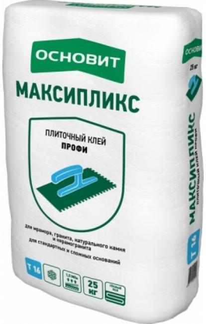 Изображение Строительные товары Строительные смеси Плиточный клей МАКСИПЛИКС Т-16