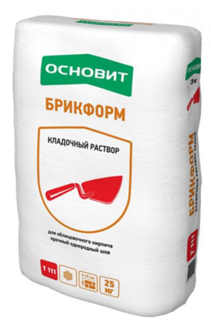 Изображение Строительные товары Строительные смеси Кладочные растворы БРИКФОРМ Т-111