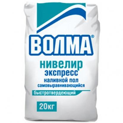 Изображение Строительные товары Строительные смеси ВОЛМА Нивелир Экспресс (20 кг)