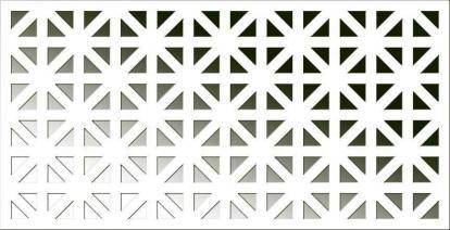 Изображение Стеновые панели Перфорированные ОнтариоАрктикПД-21