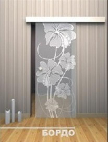 Изображение Двери Межкомнатные Бордо тонированная