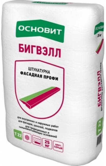 Изображение Строительные товары Строительные смеси Штукатурная смесь БИГВЭЛЛ Т-22