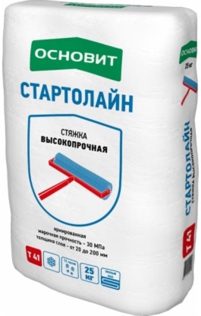 Изображение Строительные товары Строительные смеси Ровнитель СТАРТОЛАЙН Т-41