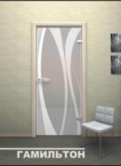 Изображение Двери Межкомнатные Гамильтон тонированная