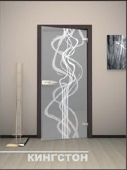 Изображение Двери Межкомнатные Кингстон тонированная матовая