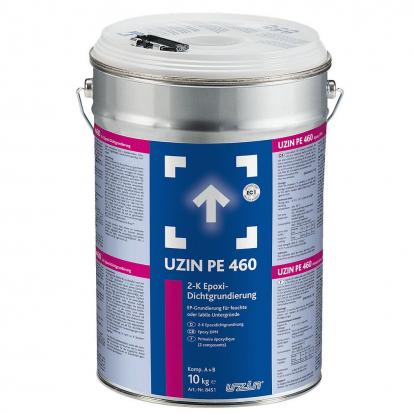 Изображение Паркетная химия Uzin Двухкомпонентная эпоксидная грунтовка Uzin PE 460