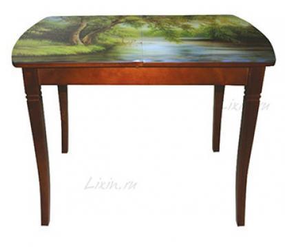 Изображение Мебель Lixin Стол с фотопечатью Бридж-3